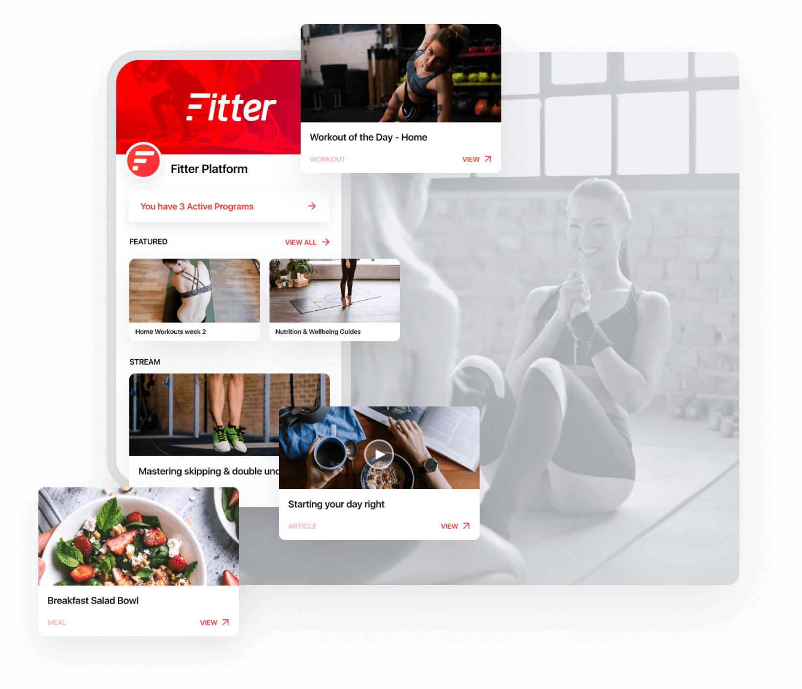 The fastest way to your own health & fitness app